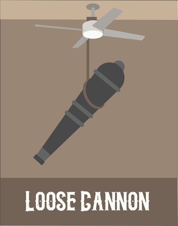 Loose Cannon Poster - Ethan Lehman