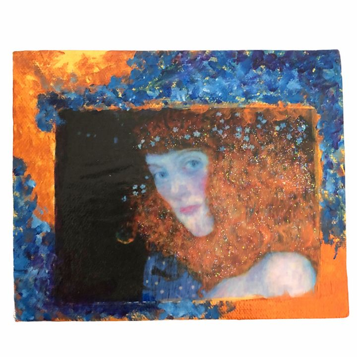 Blue Angel Glow - Sandra Mallut Moods and Colors