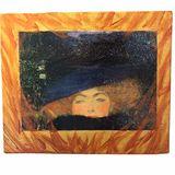 Golden Girl Take on Gustav Klimt