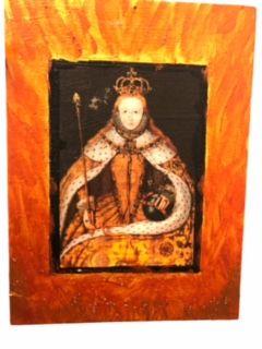 Queen Liz! - Sandra Mallut Moods and Colors
