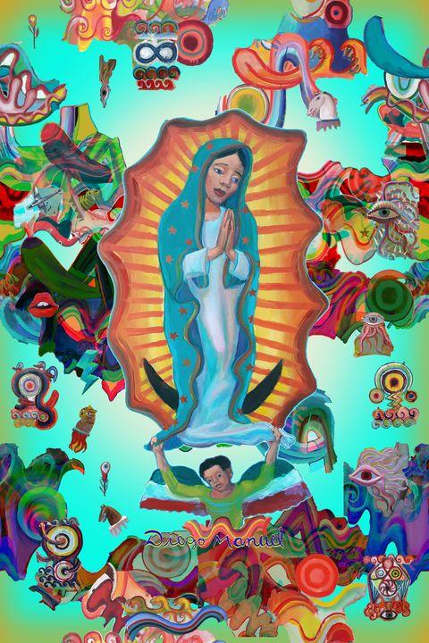 Virgin of Guadalupe - Diego Manuel Rodriguez