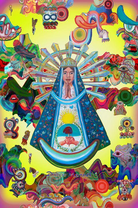 Virgin of Lujan - Diego Manuel Rodriguez