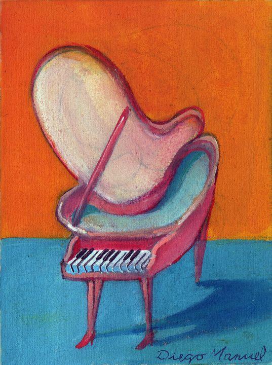 piano rosa - Diego Manuel Rodriguez