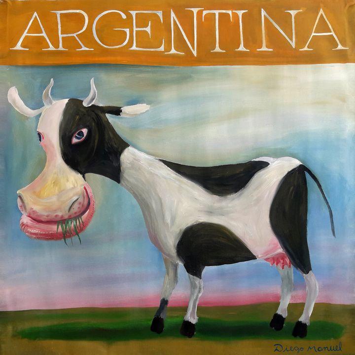 Argentine cow - Diego Manuel Rodriguez