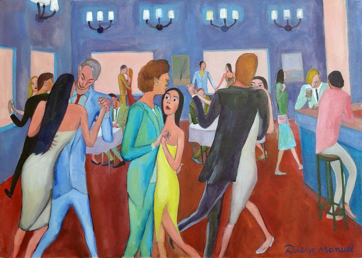 Tango bar - Diego Manuel Rodriguez