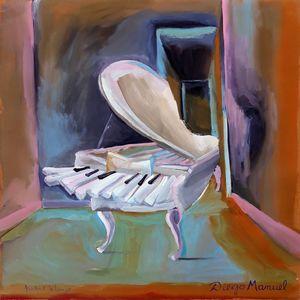 Piano blanco