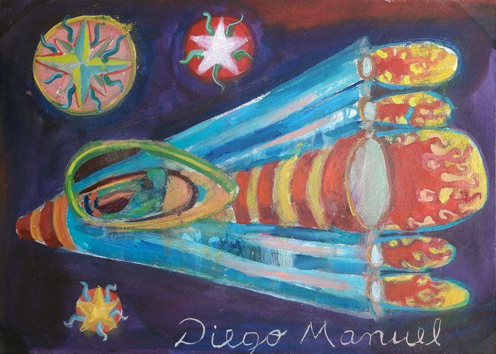 spacecraft - Diego Manuel Rodriguez