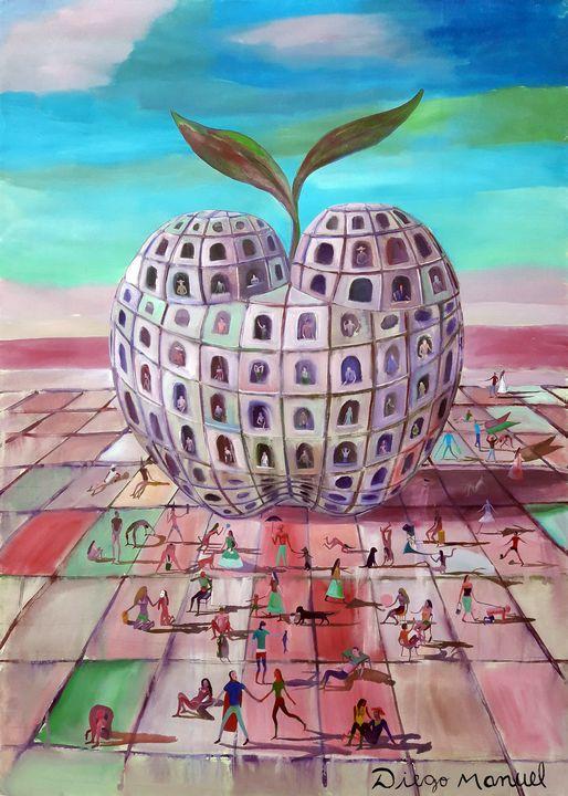 the big Apple - Diego Manuel Rodriguez