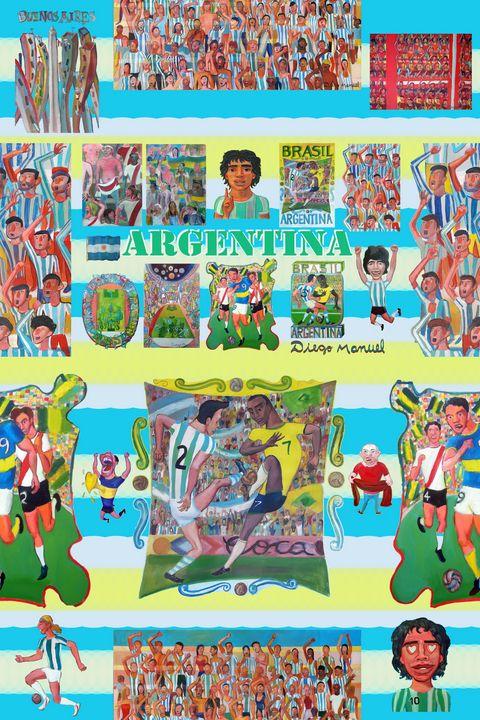 Argentina soccer - Diego Manuel Rodriguez