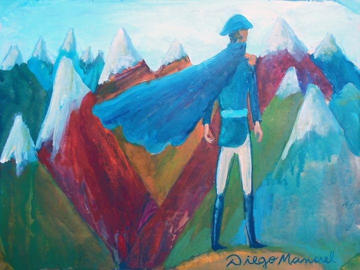 San Martín cruzando Los Andes 5 - Diego Manuel Rodriguez