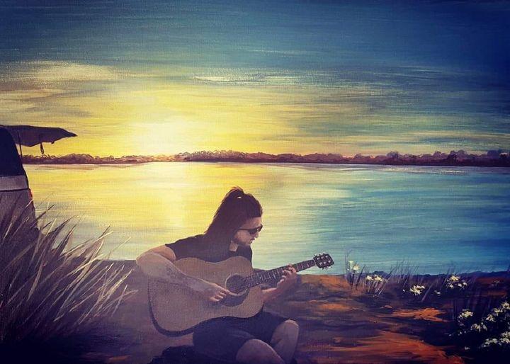 Sunset Sea Sounds - LORart