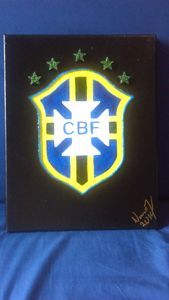 Brazil National Team Soccer Badge