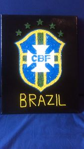 Brazil National Soccer Team badge