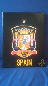 Spain National Soccer Team Badge