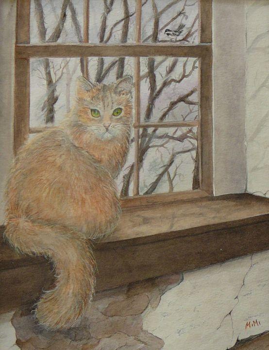 Birdwatcher - Mimi's Paintings