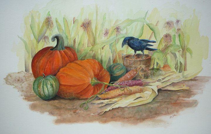 Fall Feast - Mimi's Paintings