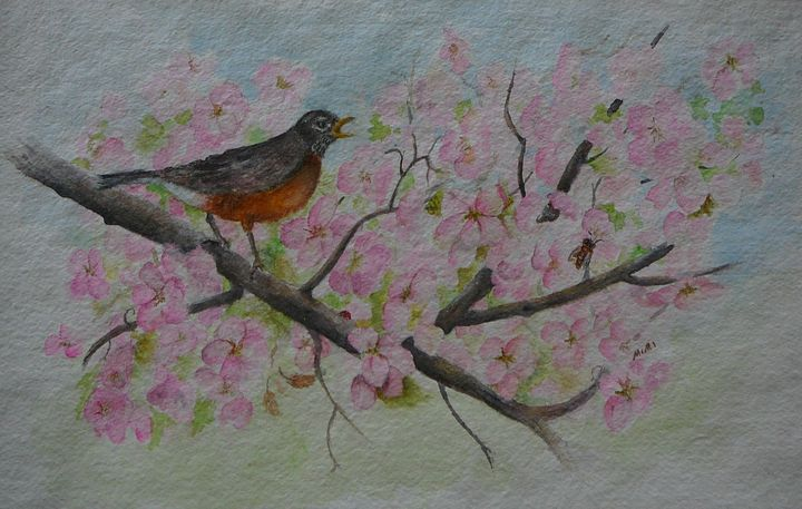 Spring is Here - Mimi's Paintings