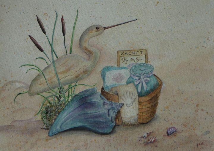 Shorebird - Mimi's Paintings