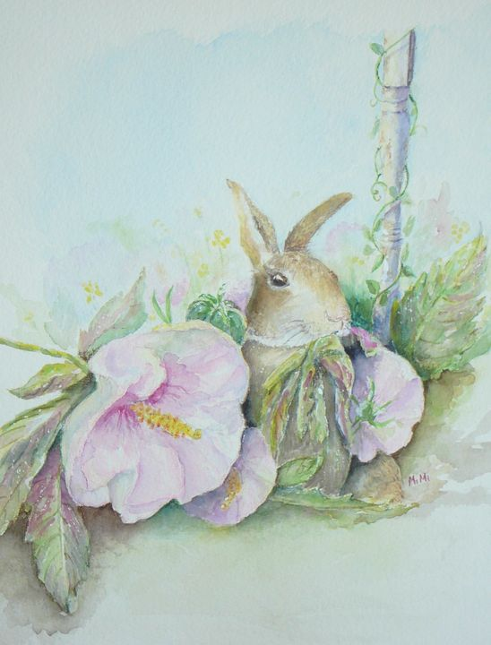 Bunny - Mimi's Paintings