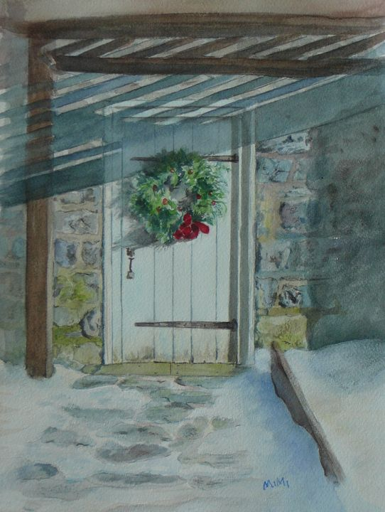 Christmas in the Snow - Mimi's Paintings