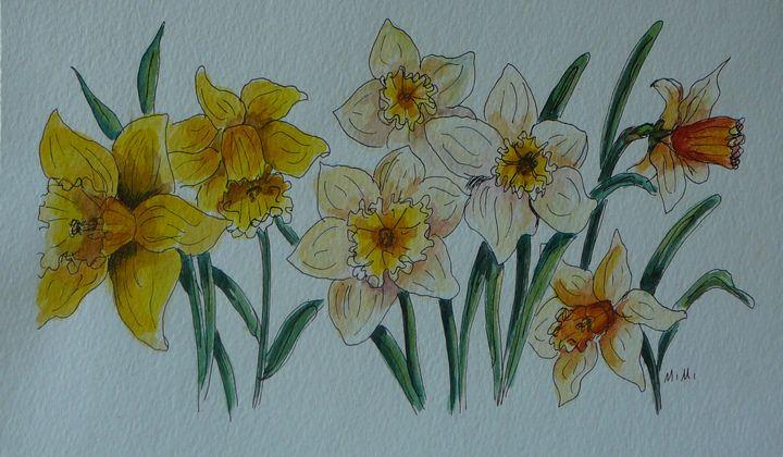 Golden Beauties - Mimi's Paintings