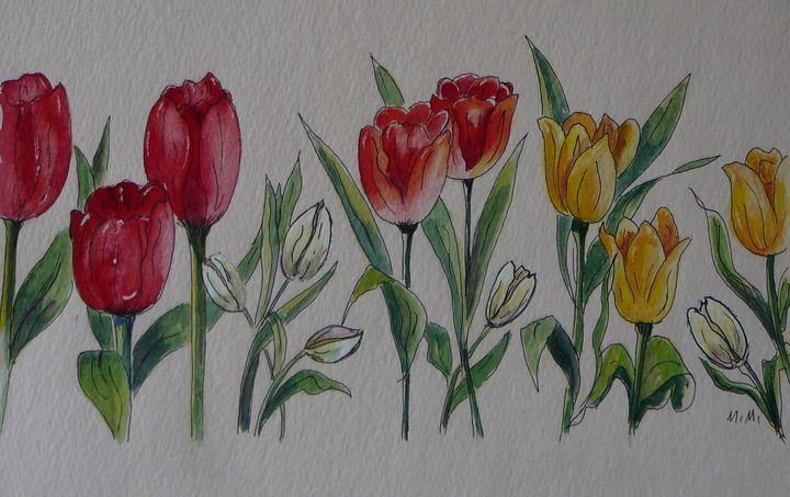 Tulips - Mimi's Paintings