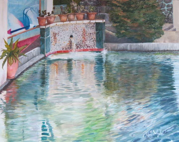 Island Resort Pool - Tiffany Balagtas