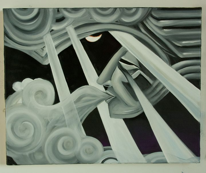 Smoke Face - Mario Garibay Artworks