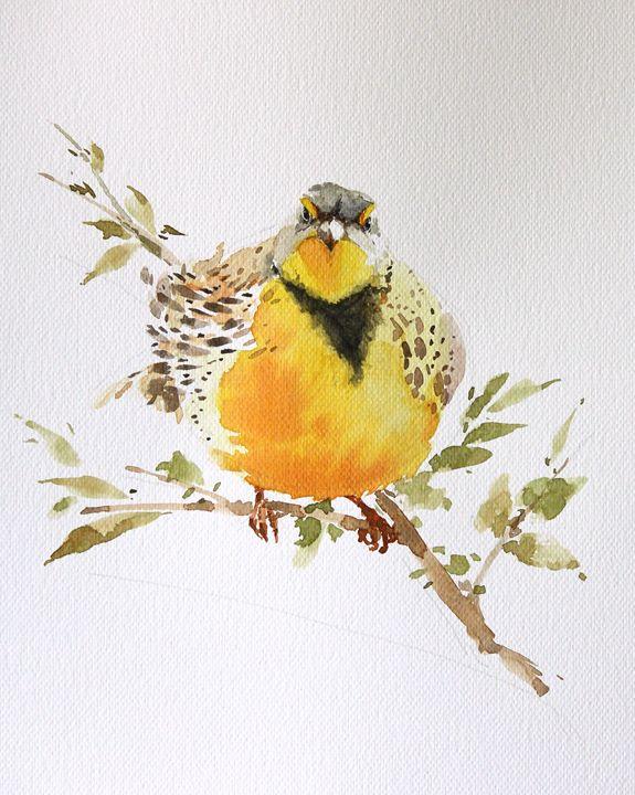 Bird art inspiration & decor No.16 - Oriental Art Studio