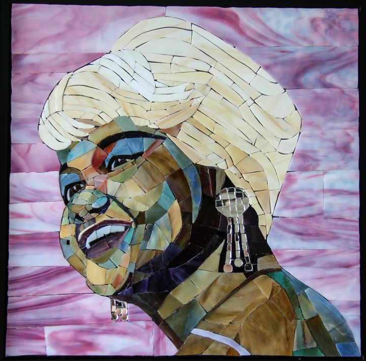 Etta James - Gregory Sipp Mosaic Artistry