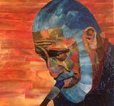 Mosaic Portrait Print