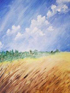 Harvest Time - Art By J
