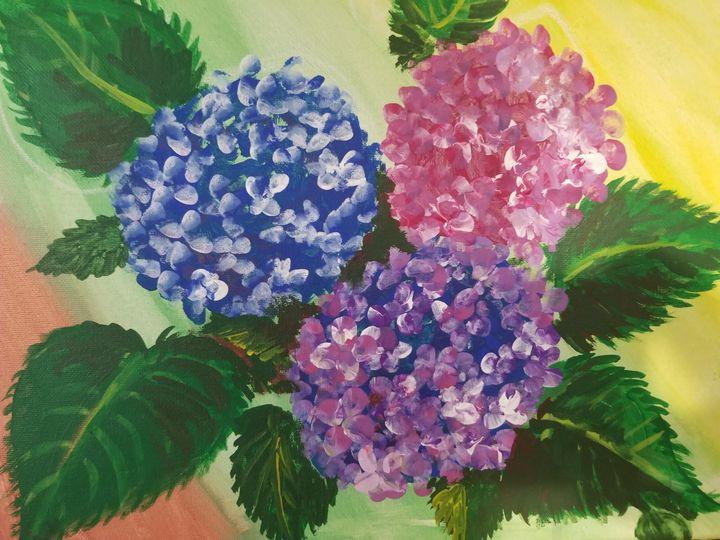 Hydrangeas - Art By J