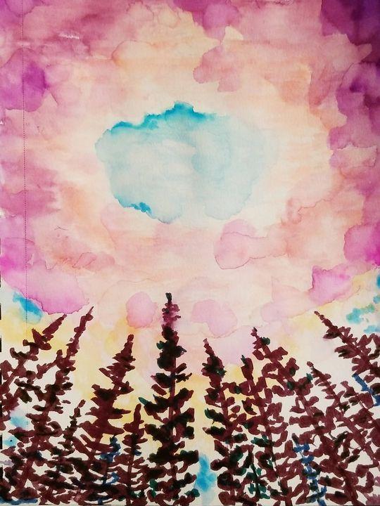 A break in the clouds - Art By J