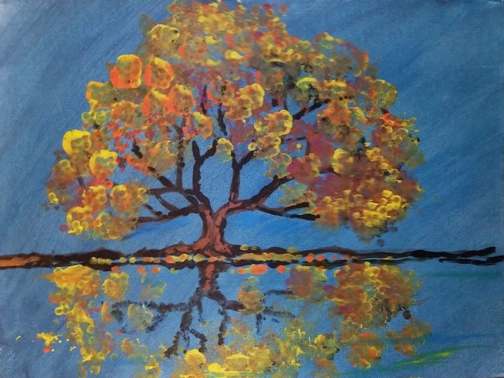 Abstract Autumn - Art By J