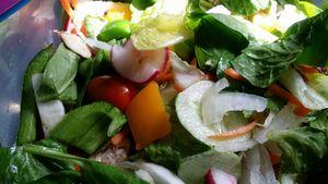 Salad Plate - Art By J