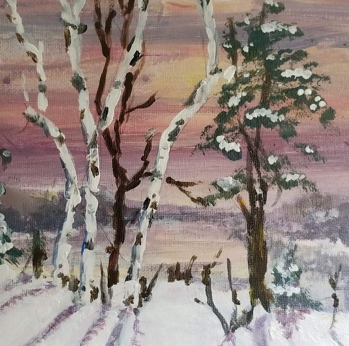 Wintry Evening - Art By J