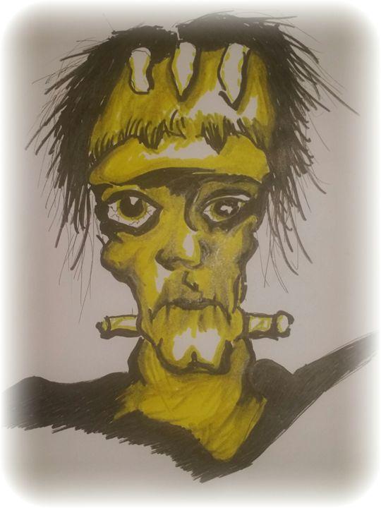 frankenstein monster - Koffin Killers