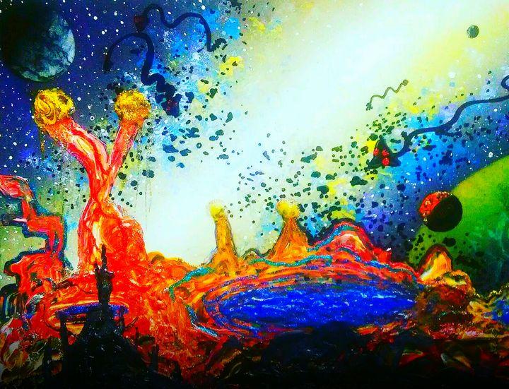 Martian Colorscape - Mind Trip Studio