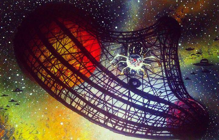 Spider-Moon - Mind Trip Studio