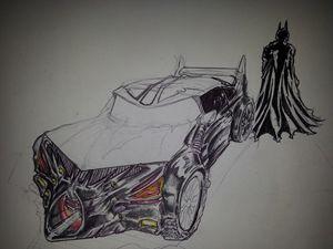 Concept Batmobile grill