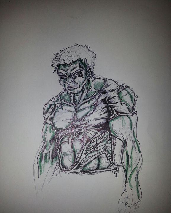 zombie Hulk - SharkByte ©
