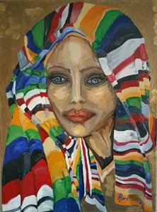 Sarah 2000 B.C.E. Oil Painting