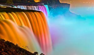 American Falls Illumination
