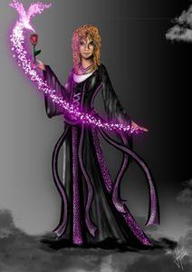 A sorceress