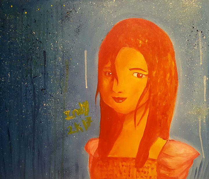 Starring Orange - Indy's Canvas