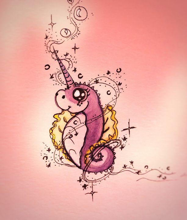 Unicorn seahorse - Andi Haynes
