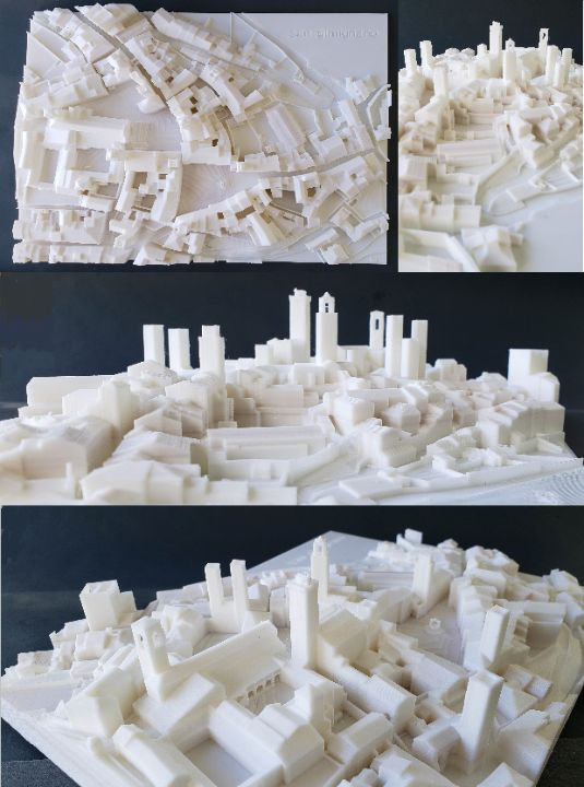 Tuscany: San Gimignano's 12 towers - 3D Townscapes