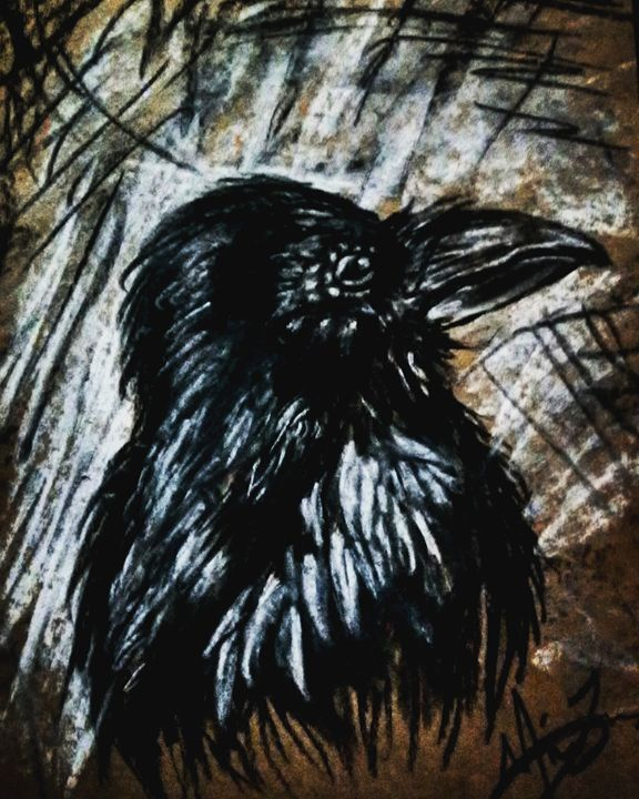 The Raven - Lion Abstract