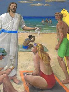 Original Painting by Sante Graziani